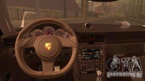 Porsche 911 Carrera GTS 2011 для GTA San Andreas вид справа