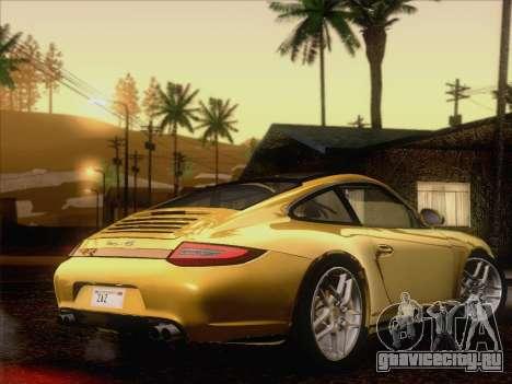 Porsche 911 Targa 4S для GTA San Andreas вид справа
