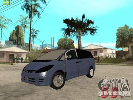 Toyota Estima KZ Edition 4wd для GTA San Andreas
