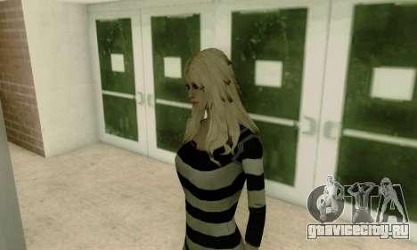 Young Blonde для GTA San Andreas пятый скриншот