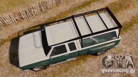 Bobcat Hi Poly для GTA 4 вид справа