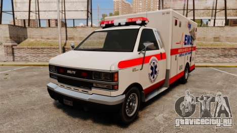 Brute Ambulance v2.1-SH для GTA 4