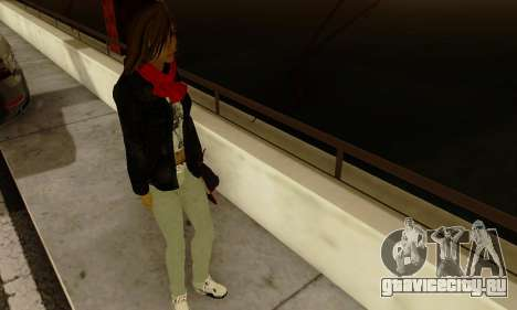 Kim Kameron для GTA San Andreas пятый скриншот