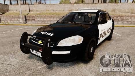 Chevrolet Impala 2008 LCPD [ELS] для GTA 4