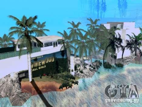Новый остров V2.0 для GTA San Andreas