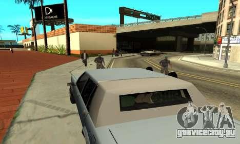 Тени в стиле RAGE для GTA San Andreas седьмой скриншот