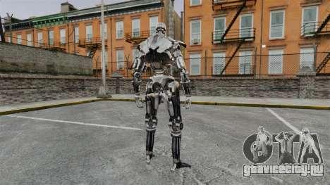 Terminator T-800 для GTA 4 второй скриншот