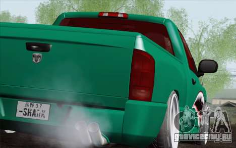 Dodge Ram SRT10 Shark для GTA San Andreas вид слева