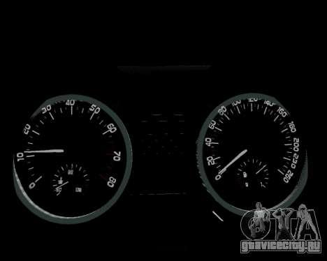Skoda Octavia A7 для GTA San Andreas двигатель