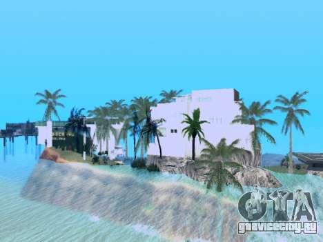 Новый остров V2.0 для GTA San Andreas третий скриншот
