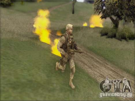 US Army Skin для GTA San Andreas второй скриншот