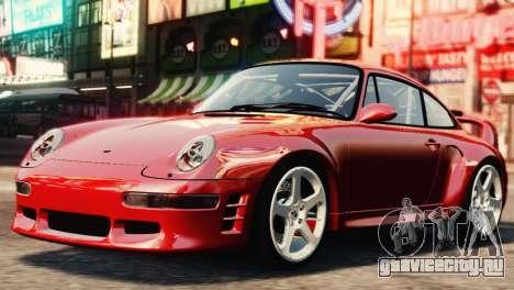 RUF CTR2 1995 для GTA 4