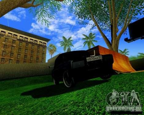 Most Wanted Enb v.2.0 для GTA San Andreas третий скриншот