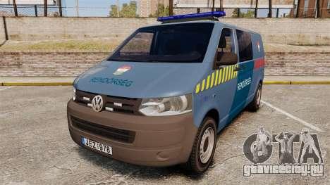 Volkswagen Transporter T5 Hungarian Police [ELS] для GTA 4