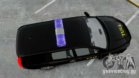 Volvo V70 Swedish TULL [ELS] для GTA 4 вид справа