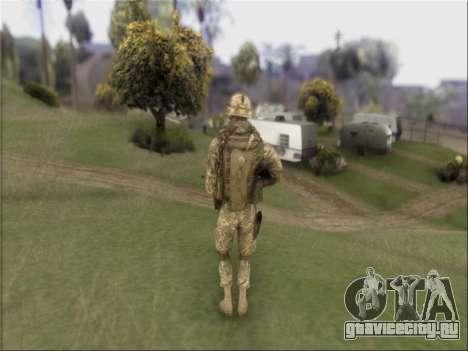 US Army Skin для GTA San Andreas