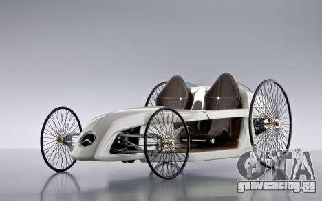 Загрузочные экраны Mercedes-Benz F-CELL Roadster для GTA 4 четвёртый скриншот