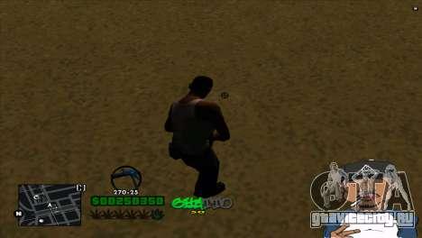 C-HUD By Markus для GTA San Andreas второй скриншот