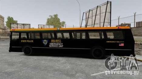 Brute Bus ESU [ELS] для GTA 4 вид слева