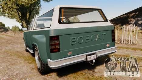 Bobcat Hi Poly для GTA 4 вид сзади слева