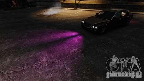 Розовый свет фар для GTA 4