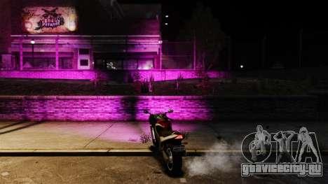 Розовый свет фар для GTA 4 второй скриншот