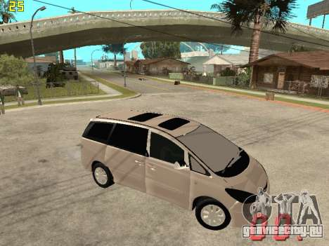 Toyota Estima KZ Edition 4wd для GTA San Andreas вид справа