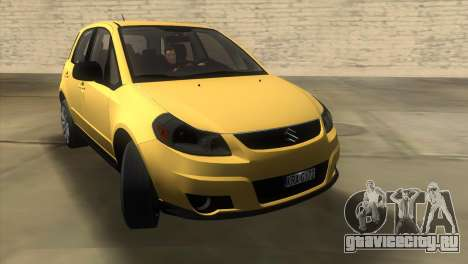 Suzuki SX4 Sportback для GTA Vice City вид справа