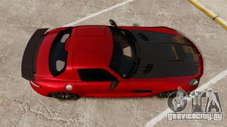 Mercedes-Benz SLS 2014 AMG GT Final Edition для GTA 4 вид справа