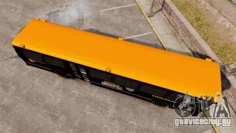 Brute Bus ESU [ELS] для GTA 4 вид справа