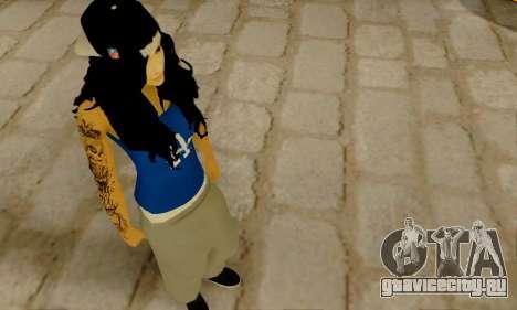 Ophelia v2 для GTA San Andreas третий скриншот