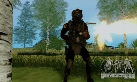 Kopassus Skin 2 для GTA San Andreas пятый скриншот