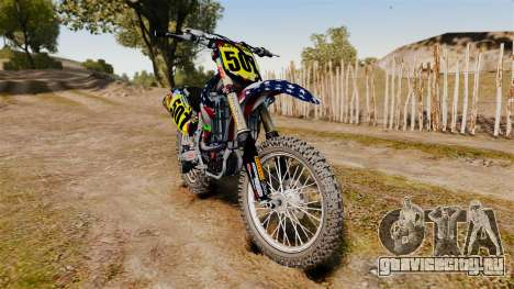 Kawasaki KX250F Monster KX USA для GTA 4