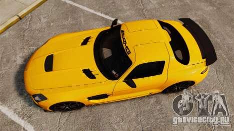 Mercedes-Benz SLS 2014 AMG Performance Studio для GTA 4 вид справа