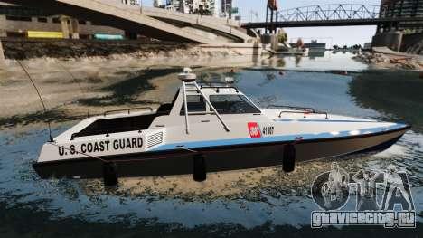 Predator U.S. Coast Guard для GTA 4 вид слева