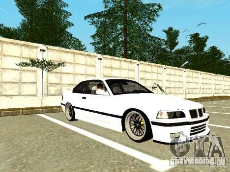 BMW M3 E36 Coupe для GTA San Andreas вид слева