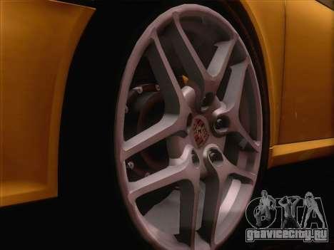 Porsche 911 Targa 4S для GTA San Andreas вид сзади