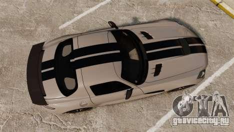 Mercedes-Benz SLS 2014 AMG NFS Stripes для GTA 4 вид справа