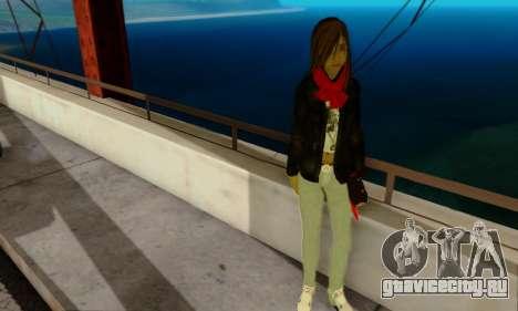 Kim Kameron для GTA San Andreas третий скриншот