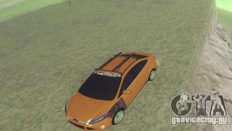 Ford Focus Sedan Hellaflush для GTA San Andreas вид слева
