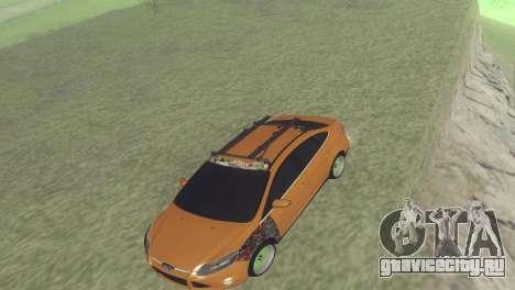 Ford Focus Sedan Hellaflush для GTA San Andreas вид слева