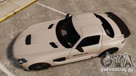 Mercedes-Benz SLS 2014 AMG Driving Academy v1.0 для GTA 4 вид справа
