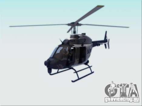 Bell 407 SAPD для GTA San Andreas
