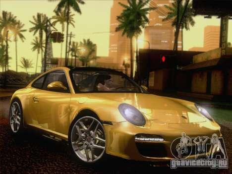 Porsche 911 Targa 4S для GTA San Andreas вид сзади слева