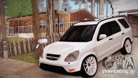 Honda CR-V Hellaflush для GTA San Andreas