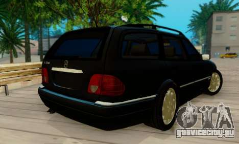 Mercedes-Benz E320 Wagon для GTA San Andreas вид сзади слева