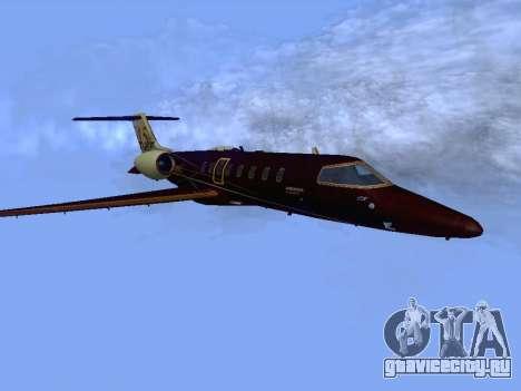 Bombardier Learjet 45 для GTA San Andreas