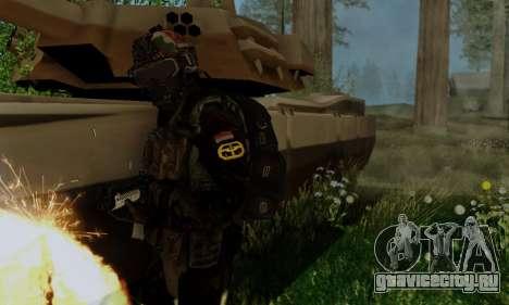 Kopassus Skin 2 для GTA San Andreas четвёртый скриншот
