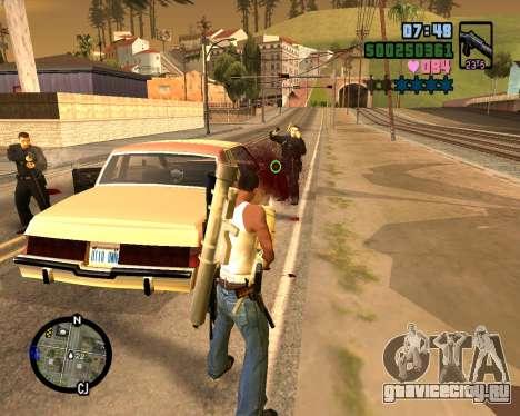 C-HUD Vice Sity для GTA San Andreas пятый скриншот