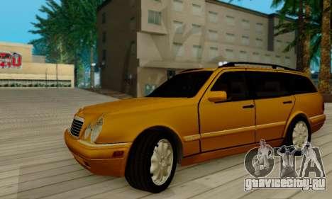 Mercedes-Benz E320 Wagon для GTA San Andreas вид сзади